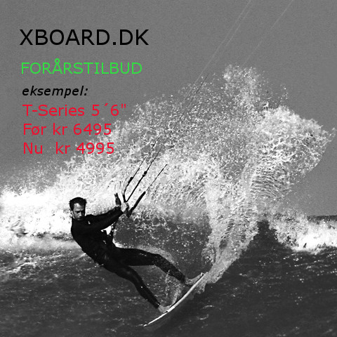 Xboard Waveboards fra 2495 komplet foil fra 9995