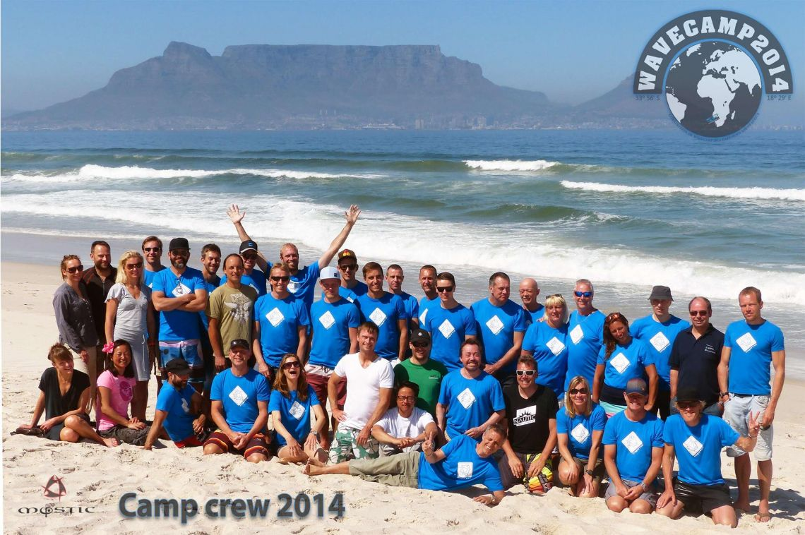 INFO aften ang wavecamp 2015 i Cape Town.